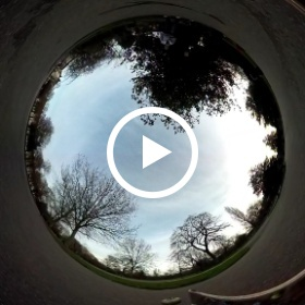 Ollie (and fall) in Victoria Park #theta360