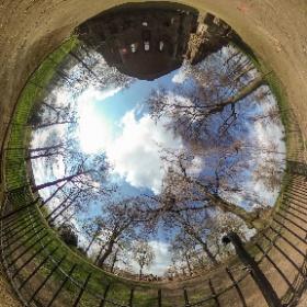 De Barbarossa-ruïne in het Valkhof park in Nijmegen, Nederland #theta360