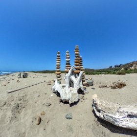 Rock art for the heart by Larry Martin #theta360