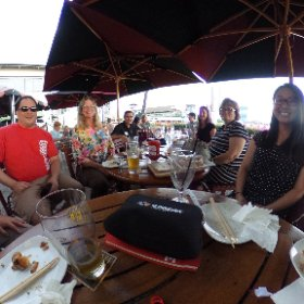Enjoying drinks, food, and great company at the #HSTE Oahu Meet & Greet! #theta360