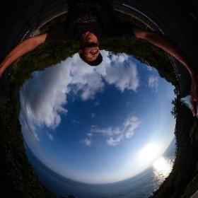 東シナ海  屋久島を自由に旅する GREEN MOUNT  #theta360