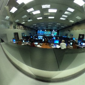 NASA Johnson Space Center Mission Control