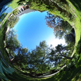 Adirondack Garden #theta360