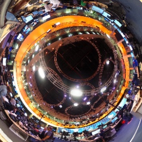 This would be your view if you were an Executive Producer in the @AlJazeera newsroom #behindthescenes #theta360