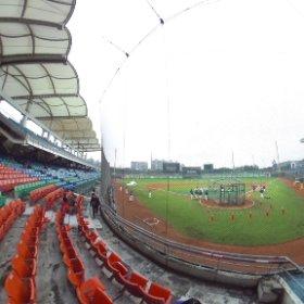 台北新荘棒球場 #theta360