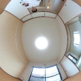 横浜市港南区にあります「アムール港南」3DKマンション 角部屋のパノラマ写真です。物件詳細はこちらhttp://www.futabafudousan.com/bukken/g/syousai/553dat.html #theta360