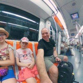 In the roman subway. #Rome #Italy #theta360 #theta360fr