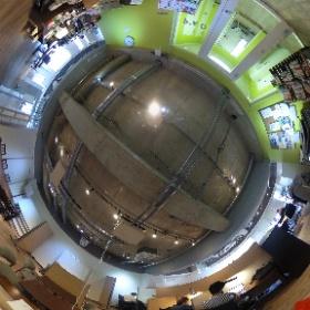 五反田コワーキングスペースpao パオのエントランスから見たセンタースペース