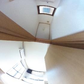 松林アパートD-1 WC