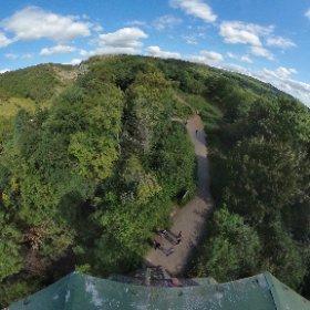 Jacobs Ladder Tower, Cheddar Gorge #theta360 #theta360uk