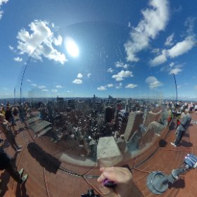 From the #rockefeller tower shadthecat.com #thefelinephotographer #felinephotographer www.shadow-photography.com #photographer #shadthecat #theta360 #theta360uk