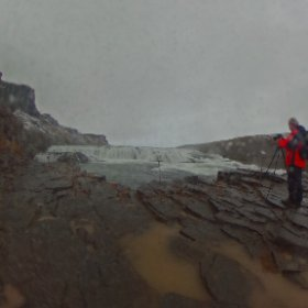 Gullfoss Waterfall, Iceland taken on 22/10/2018 #theta360 #theta360uk
