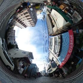 どぶ板通り@横須賀 Dobuita Street   @Yokosuka  ドイツ式カイロプラクティック逗子整体院 www,zushi-seitai.com    #theta360