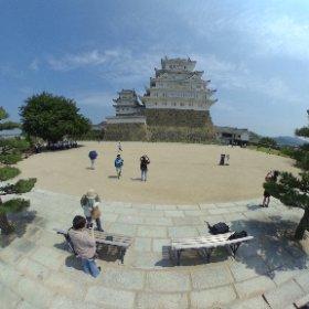 姫路城 #theta360