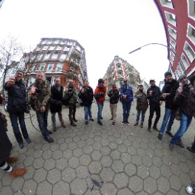 Finisher photo of the  #COSYSPEED photowalk in #Hamburg today :) #theta360 #theta360de