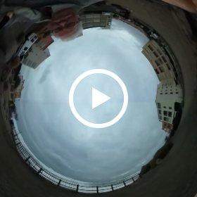 la mer se déchaine au Cap d'agde novembre 2016 france Languedoc Roussillon video 360 lecapagde