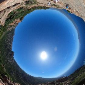 Calanche Cliffs - Corsica #theta360