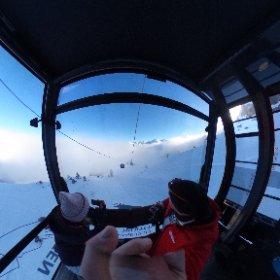 Ifen Bergbahn im Kleinwalsertal #ifen #kleinwalsertal #austria #skigebiet #kabine #inversion