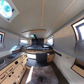 Diese Wohnkabine ist eine Four Wheel Campers Grizzly aus Baujahr 2019. #www.fourwheelcampers.de #wohnkabine #pickupcamper #theta360 #theta360de