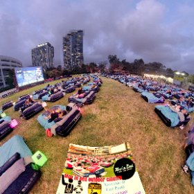 360 spherical Mov in Bed outdoor Cinema on Ozone reserve (Lake Vasto) East Perth, double beds, licenced Food n Drinks https://linkfox.io/H2gLm BEST HASHTAGS #MovInBedPerth #EastPerthWA #PerthCity #VisitPerthWA #Firefly3d #theta360