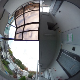 チサトハイツ2 四階廊下
