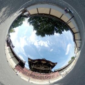 #西本願寺 #NishiHonganji #唐門 #Karamon #RICOH #thetas #パノラマvr #panoramavr #Japan #京都 #Kyoto #theta360