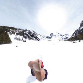 ジョフリーレイク 氷河 VR #theta360