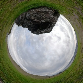 Turtle Rock on Ring Mountain, north of San Francisco. #streetcar2subduction #theta360
