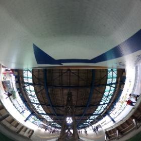 片瀬江ノ島駅でシータ #小田急 #theta360