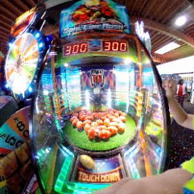 Ben got the jackpot with 300 tickets!!! #theta360