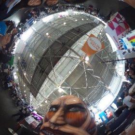@rajramayya #CaptureTheTitan #theta360 #JPopSummit2015 kodanshacomics.com