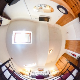 The Old Chapel - Master Bedroom #theta360uk