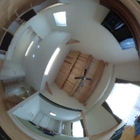 本日の見学会場。360°カメラでご覧ください。 #theta360