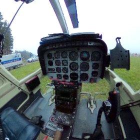 Cockpit Helikoptet Jet Ranger