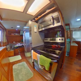 360 view Lien Hwa 62 Galley lovethatyacht.com #theta360