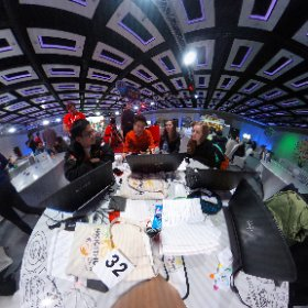 Team Global Aid, deep in discussion @miskhealth #miskHackathon  #theta360