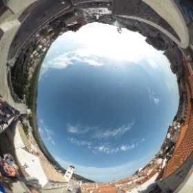 Dubrovnik Pile Gate from above #theta360uk