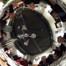 Wim Kok diner met oa Minister Wouter Koolmees. #theta360
