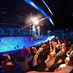 U2 Who's Gonna Ride Your Wild Horses Belfast 27/10 360 shot #U2eiTour