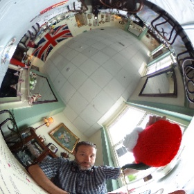 Nice cup of tea anyone?  I'm in @BettyBumbles40s #theta360uk