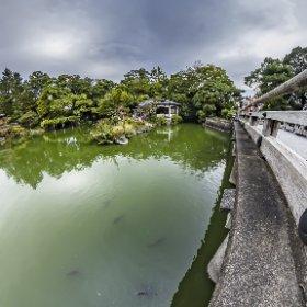 京都御苑、九条池 #thetaz1 TM-2にて撮影 #theta360