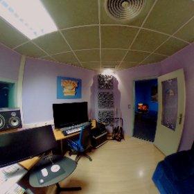 Sala de control de los Estudios Séptimo Cielo (v2) #theta360