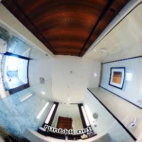 バンコク マリオット スリウォンのバスルーム360度写真 #theta360