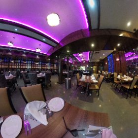 BENGAL BRASSERIE: First 360 degree look inside new Indian restaurant in Merrion Way, Leeds, which opened April 2017 - a short walk from Leeds First Direct Arena. #theta360 #theta360uk