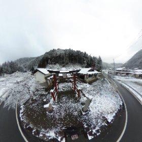 2019/04/03 日吉⛩️神社 #snow3d  #theta360