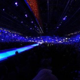 U2 Lights Of Home Belfast 27/10 360 shot #U2eiTour