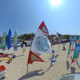 grand haven kite fest #theta360