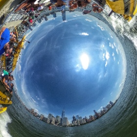 New York Water Taxi  #theta360