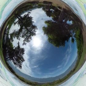 高鳥谷山 - 中央アルプス側の展望