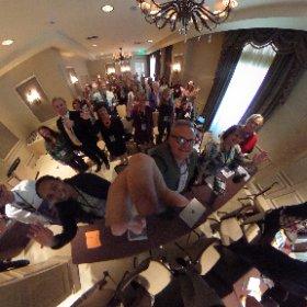 AMRPA crowd during Mary's marketing presentation #askformary #rehabilitation #neworleans #theta360